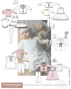 romantisch puur zacht en lief ontwerpen voor baby meisjes