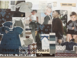 sfeer materiaal en stoffen in concept opzet jottum winter collectie