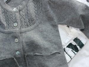 mohair vestje en print voor jottum babies