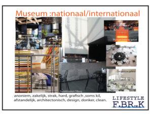 concept en onderzoek inrichting museumcafe