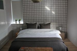 interieur van slaapkamer in het nieuw