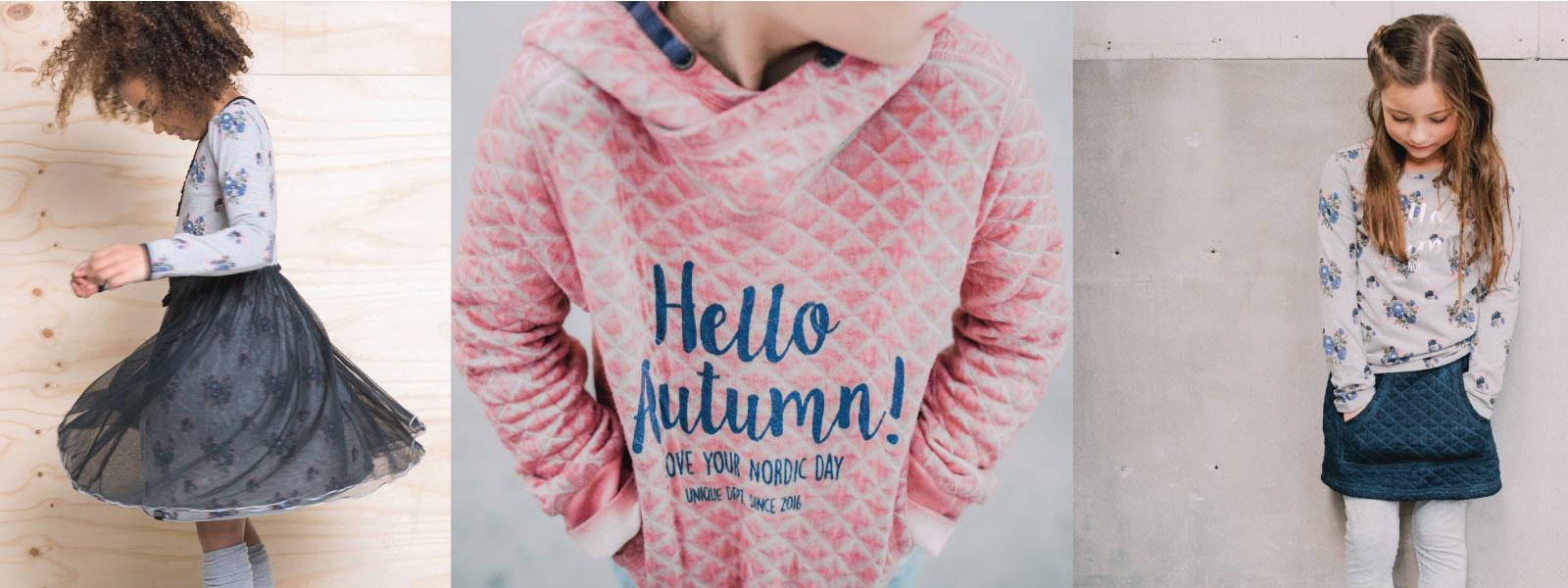 mooie dessins en prints op roze sweat shirt jersey feest jurk