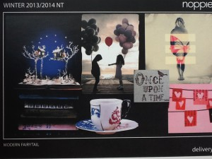 inspiratie bord voor nieuwe collectie
