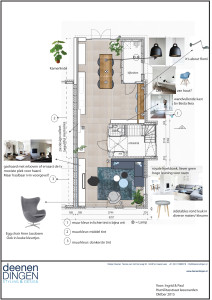 binnenhuisarchitectuur en styling door deenendingen interieur
