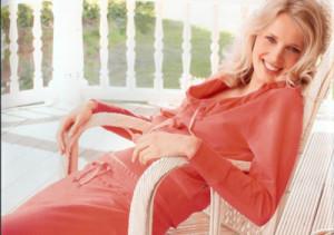 oranje huispak ontworpen voor cyell home wear collectie