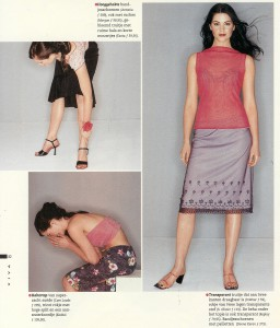 fotostyling en modeproductie voor sanoma dames magazine
