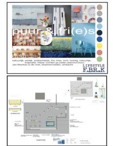 concept en design voor kunstcafe interieur styling en binnenhuisarchitectuur