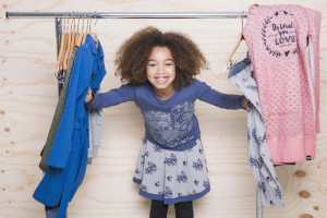 modeproductie fotostyling van kindercollectie nordic day