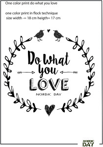 print handmade do what you love